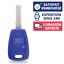 Coque-Plip-Clef-Boitier-Plip-pour-Telecommande-FIAT-Uno-Punto-Bravo-Doblo-Marea miniature 1