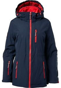 Tommy-Hilfiger-Women-039-s-3-in-1-Systems-Jacket-Navy-Blue-Red-Size-XL-Warm-Coat