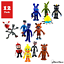 """miniature 1 - Five Nights at Freddy's Action Figures Toys Dolls, 4"""" FNAF USA SELLER 12 pack"""