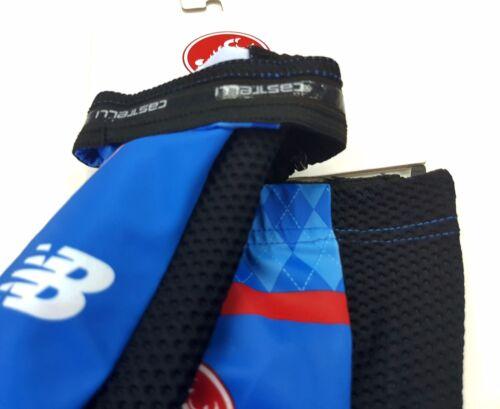 Castelli Aero Garmin 3.1 Men's Cycling Shoe Covers Blue Black Size M