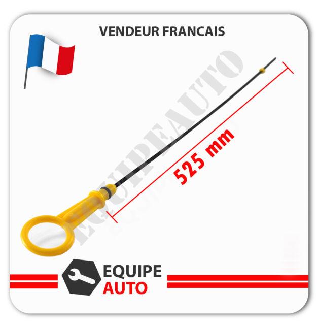 Jauge niveau d'huile pour Renault 1.5 dci type k9k722 (525 mm) OEM = 8200553001