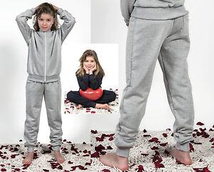 Pantalone-Tuta-Scuola-Sport-Unisex-2-18-Y-Child-School-Cotton-Trousers-PT01K