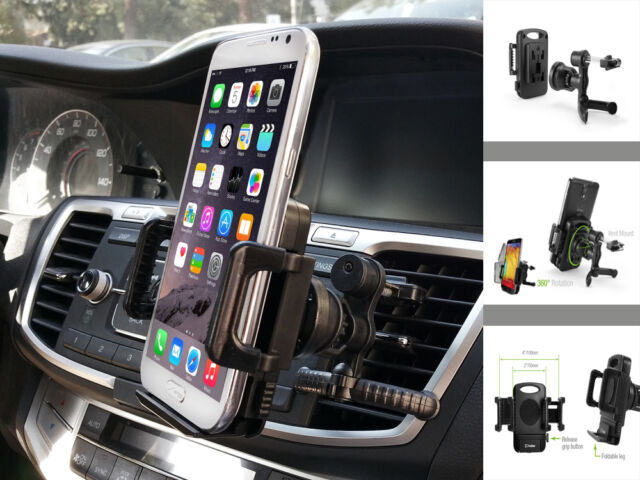 Car Air Vent Clip Cellphone Holder Stand for Samsung Galaxy S8 S8+ Phone Cradle