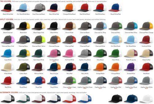 ss Richardson Meshback Hat Baseball Cap Snapback Cap Trucker 112