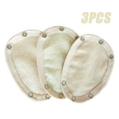 3x 100/% Cotton Soft Comfortable Newborn Baby Body Suit Vest Extender 4Colors