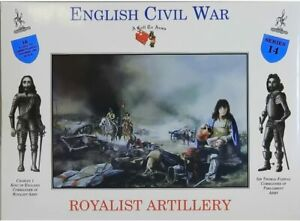 A Call To Arms English Civil War Royalist Artillery Plastic Soldier 1:32