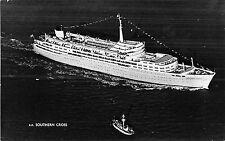 POSTCARD  SHIPS    SS  Southern  Cross