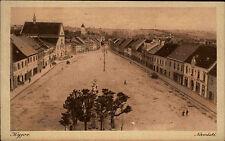 Kyjov (deutsch Gaya) Dorf Partie AK Bedarfspost 1920 Vintage Postcard used