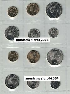 2019-5c-10c-20c-50c-1-2-Effigy-Jody-Clark-amp-IRB-Set-of-6-RAM-UNC-Coins-x-2