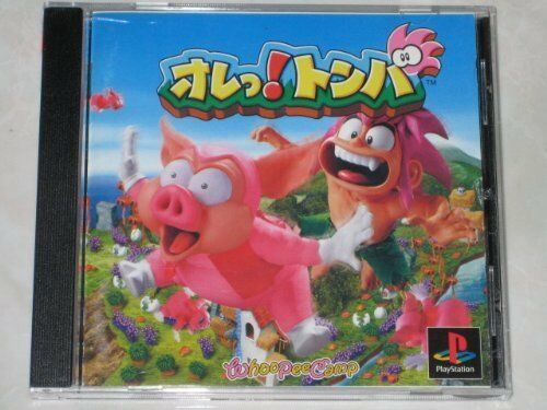 UsedGame PS1 PS PlayStation 1 fluorescens! Tomba Japan