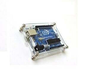 Clear-Acrylic-Box-Enclosure-Transparent-Case-Shell-F-Arduino-Uno-R3-Board-Module