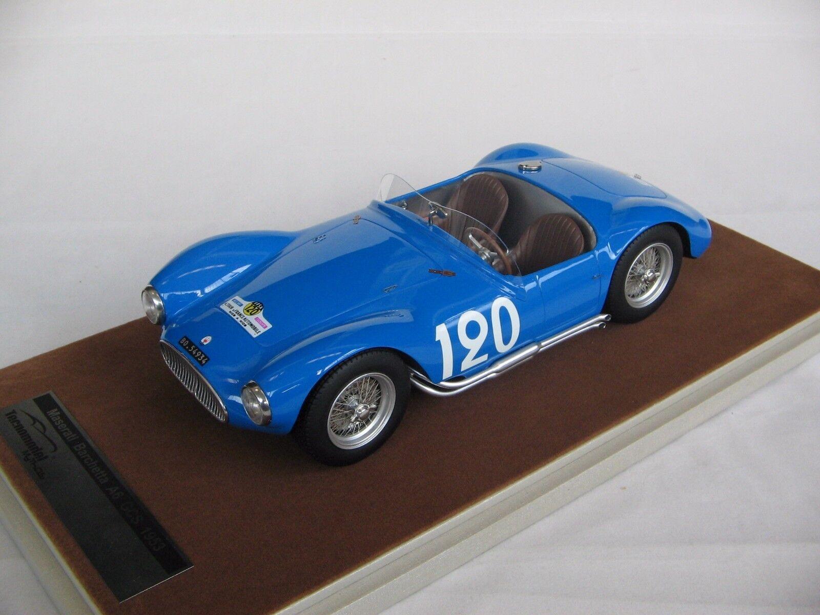 1 18 scale Tecnomodel Maserati A6 GCS GCS GCS Tour de France 1954 car TM18-44F ea9650