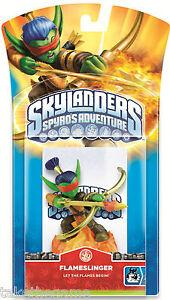 Skylanders-Spyro-039-s-Adventure-FLAMESLINGER-Single-Character-Figure-Pack-BNIP