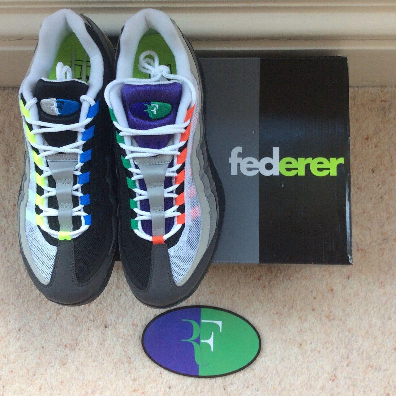 NikeCourt Vapor Vapor Greedy RF x Air Max 95 Greedy Federer