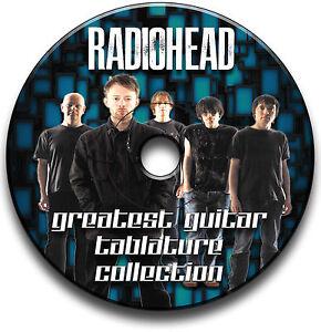 120-x-RADIOHEAD-ROCK-GUITAR-TAB-TABLATURE-SONG-BOOK-TUITION-SOFTWARE-CD