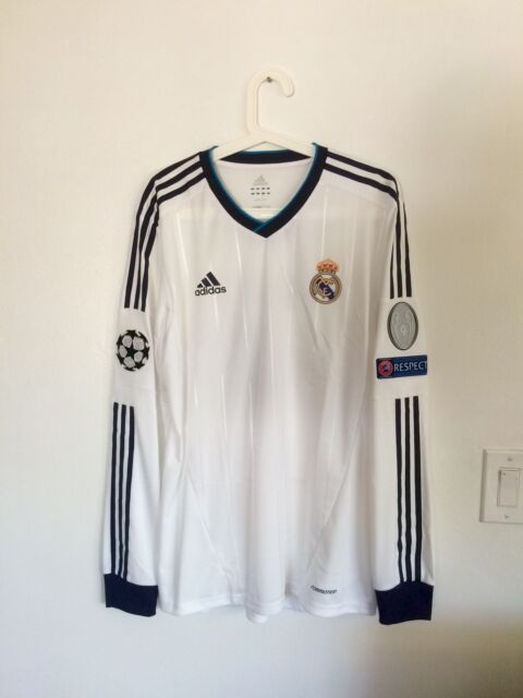 RONALDO, 2012-13  REAL MADRID LS HOME CHAMPIONS LEAGUE MATCH UN WORN SHIRT
