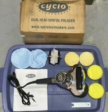 Cyclo Aqua Soft Carpet Brush Pair Cyclo Model 5 Pro Buffer Polisher Scrubber