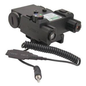 Ncstar Green Laser & 4 Color Navigation Light LED QR Mount Weaver Picatinny
