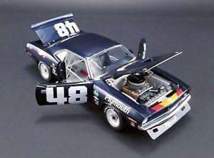 DAN-GURNEY-1970-PLYMOUTH-TRANS-AM-CUDA-ROAD-RACING-1-18-ACME-DIECAST-CAR-GMP