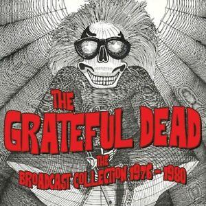 GRATEFUL DEAD - THE BROADCAST COLLECTION 1976-1980  12 CD NEU