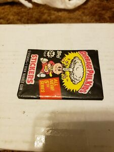 Garbage-Pail-Kids-card-pack-Series-5-Unopened-Topps-Bubble-Gum-Rare-GPK