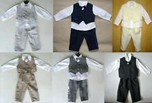 24 BABY BOY OUTFIT SUITS Wedding Christening Special Occasion Clothing  WHOLESALE   eBay