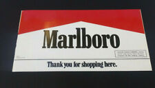 Marlboro Thank You For Shopping Here Business Hours Decal New