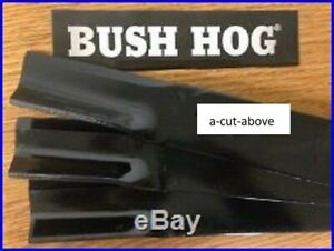 "3 USA XHT HIGH LIFT BLADES BUSH HOG 50056493 60/"" /& 61/"" DECKS CZ2561 M2260"