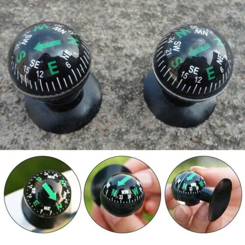 VEHICLE ACCESSORY GIFT Navigation Compass Ball Dashboard Suction Cup Car
