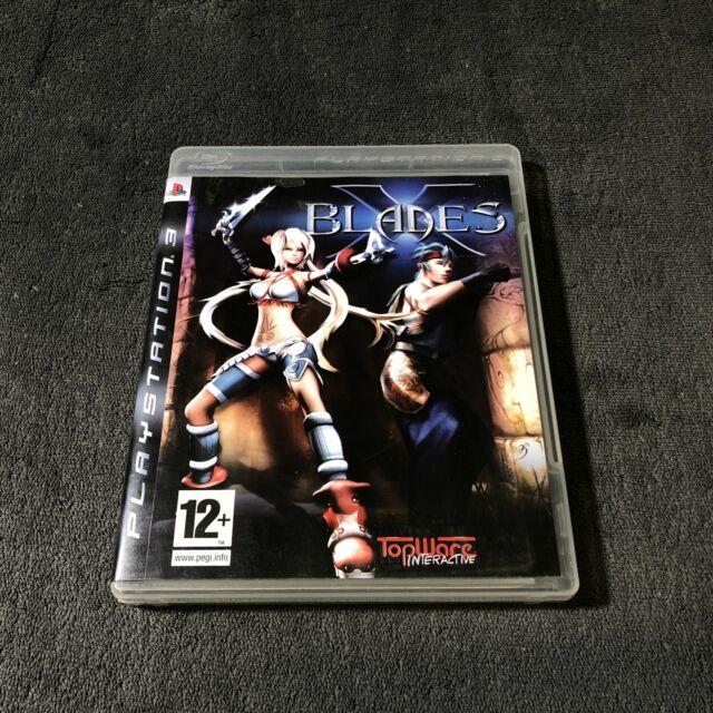 PS3 X Blades EUR CD état neuf