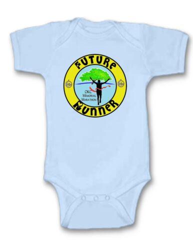 Details about  /OKC Marathon Baby Bodysuit Cute New Gift Choose Size /& Color