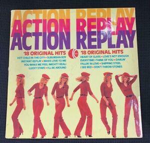 ACTION-REPLAY-LP-VINYL-18-Original-Hits-K-TEL-ACCEPTABLE-CONDITION