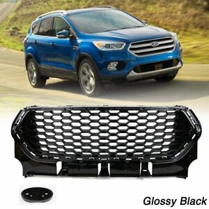 Auto-Kuehlergrill-Grill-fuer-Ford-Escape-Kuga-2017-2018-2019-Frontgrill-Stossstange