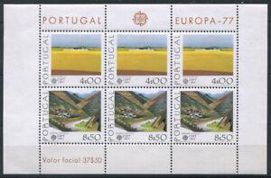 Portugal-1977-Mi-Bl-20-Block-100-Postfrisch-EUROPA-CEPT
