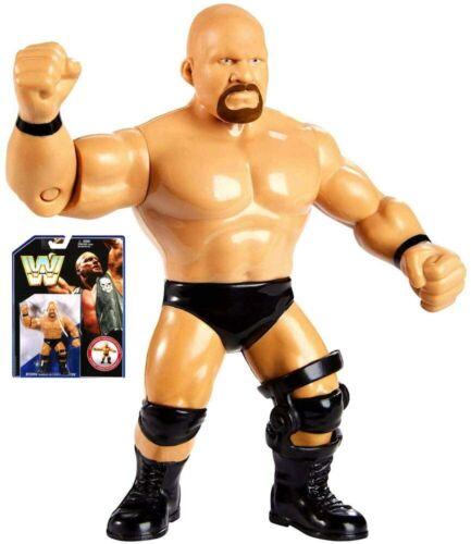 Mattel WWE Colección Piedra Fría Steve Austin Retro Figura De Acción