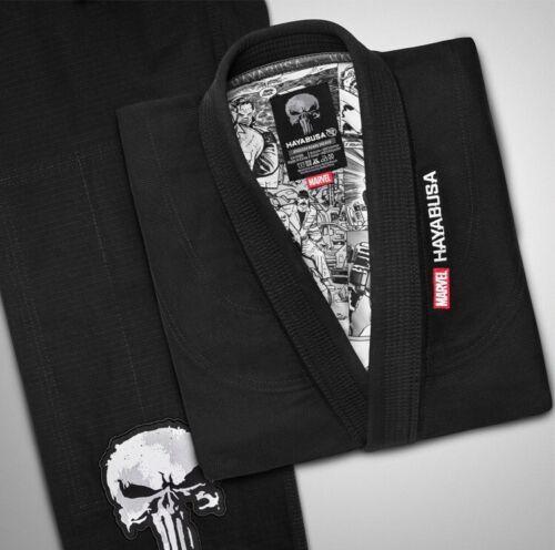 Hayabusa The Punisher Gi Limited Edition MARVEL Jiujitsu Uniform Brazilian