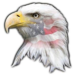 MAGNET Patriotic Eagle US Flag Love It Leave It