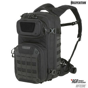 Maxpedition-RFCBLK-RIFTCORE-AGR-Tactical-Military-Backpack-CCW-Hydration-Black