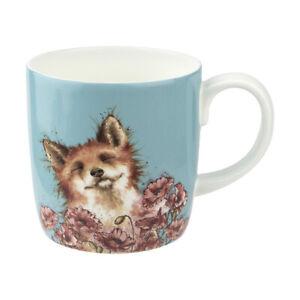 Wrendale-Poppy-Field-Fox-Boxed-Mug