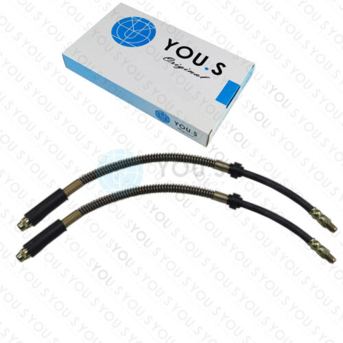7B//E//D//A//C Rechts für PEUGEOT 306 2 x Bremsschläuche Vorderachse Links