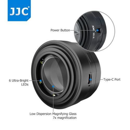 Sensor de aumento de 7x dispositivo de imagen de inspección de alcance para cámara réflex digital sin espejo