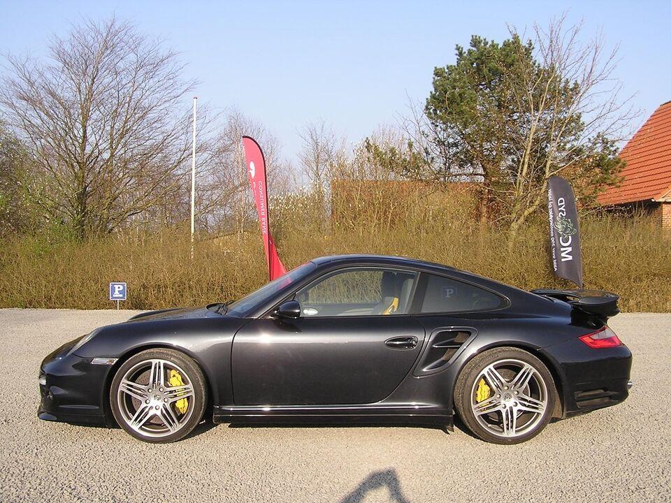 Porsche 911 Turbo 3,6 Coupé Tiptr. Benzin aut. modelår 2009