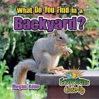 What Do You Find in a Backyard? by Megan Kopp (Paperback / softback, 2016)