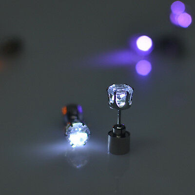 Fashion Light LED Blinking Studs Earrings Accessories for Party/Festival Xmas