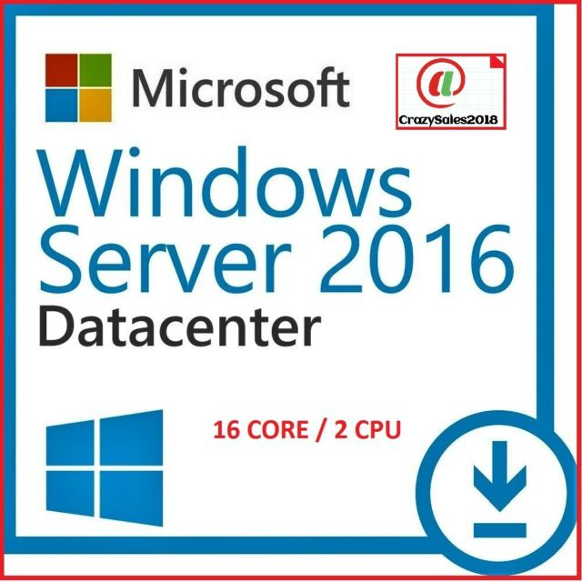 Windows Server 2016 DATACENTER/STANDARD 64 bit Digital License Key (Cheap)@+@=!