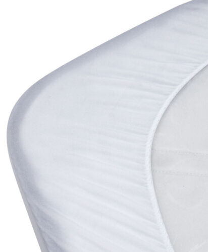 Kidz Kiss Bamboo Waterproof Fitted Mattress Protector Cover Standard Cot