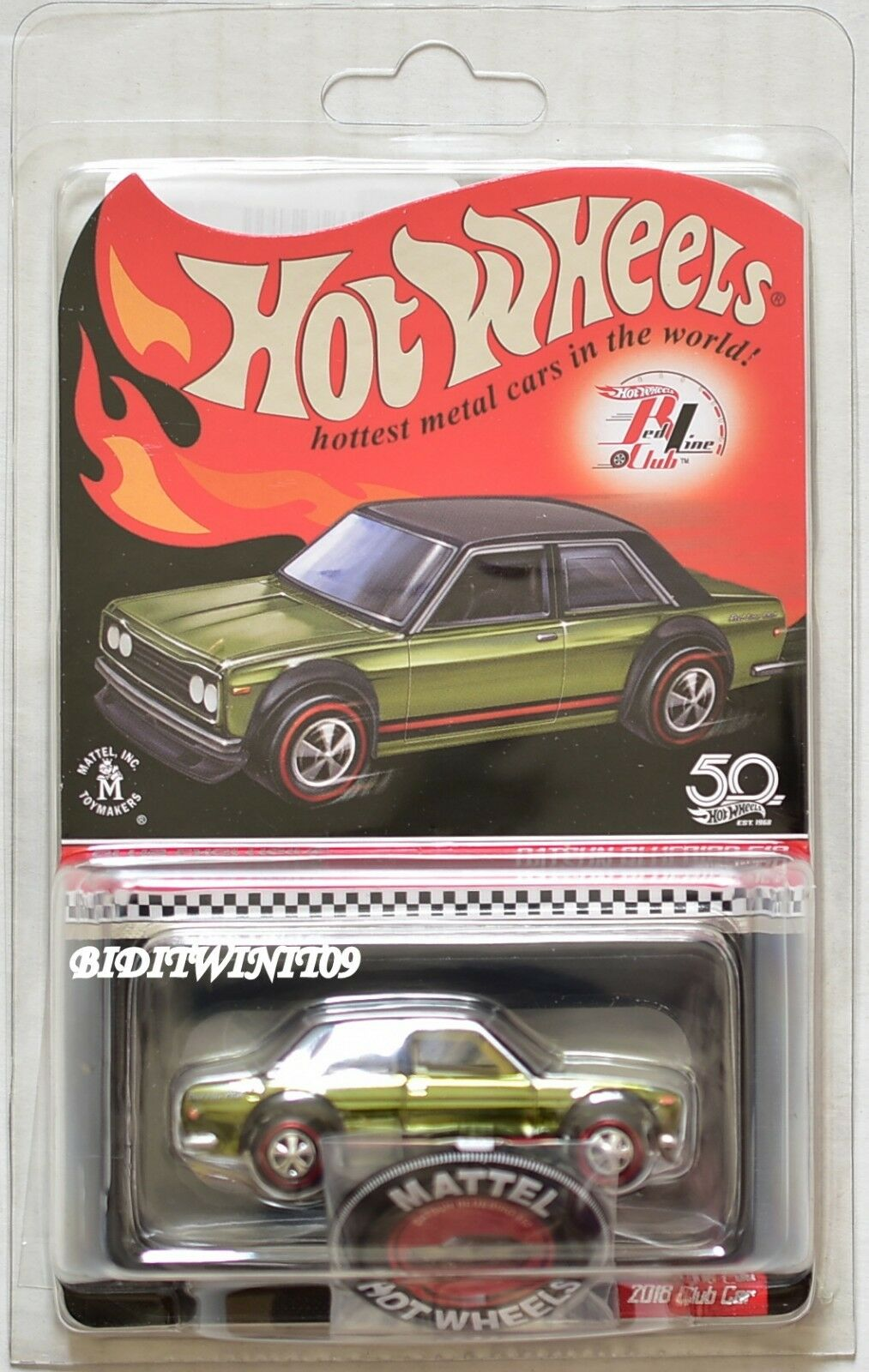 Hot wheels 2018 rlc datsun 510 w   button & pflaster ist w +