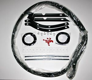 PORSCHE-964-TURBO-965-WIDE-BODY-SEAL-and-CLIP-KIT-43-PIECES-OEM-NEW