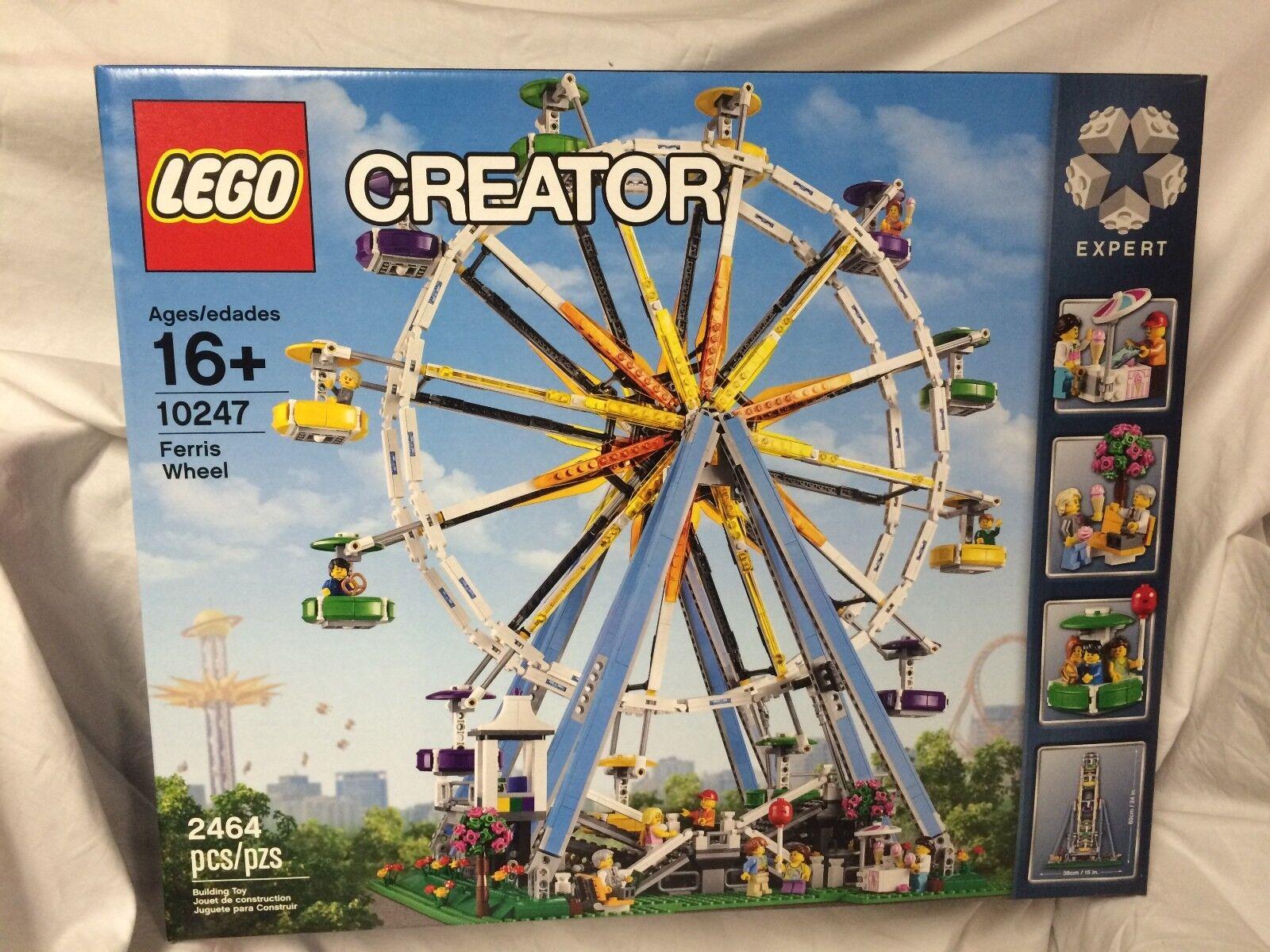Lego Skapare 10247 Ferris hjul BRAND NY förseglad PERFECT låda Pensionerad uppsättning