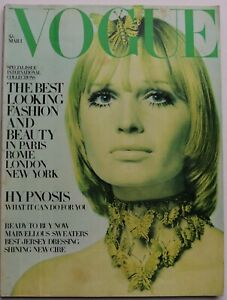 1969 Int'l Collections VOGUE 60s vintage fashion Bailey Guy Bourdin March